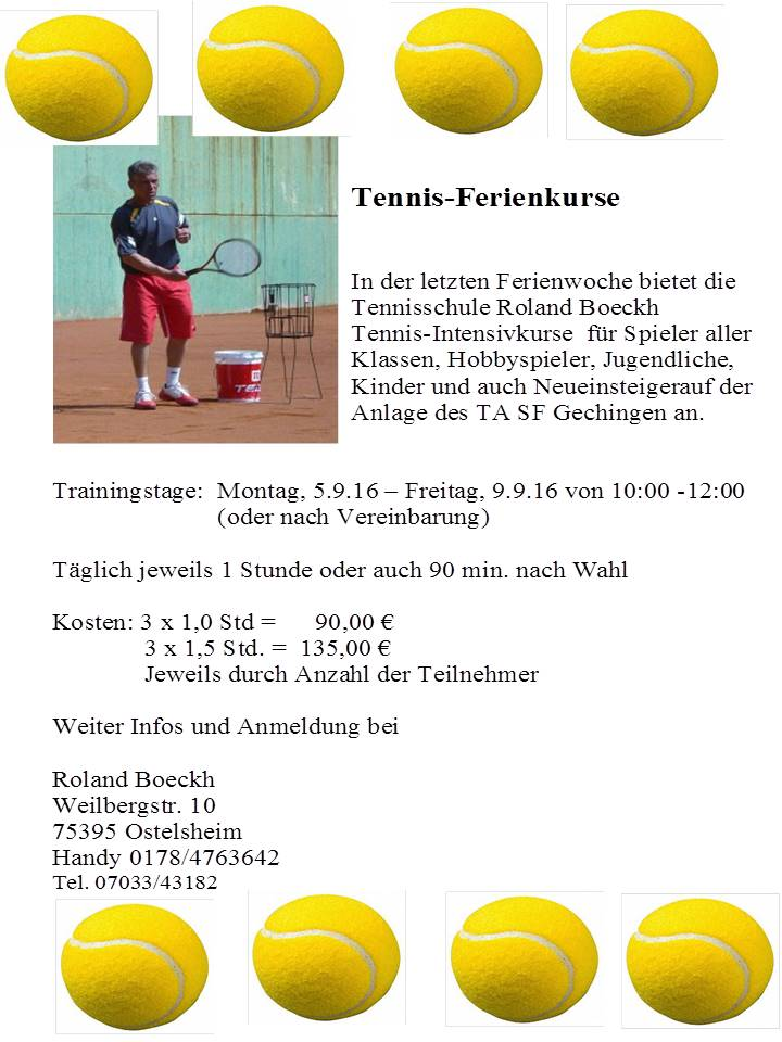 tennis-ferienkurs 2016